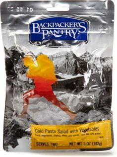 Backpacker\'s Pantry Cold Pasta Salad - 2 Servings