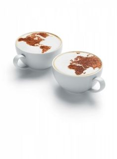 Hsbc Coffee Cups photographed by Tal Silverman - Picture Of The Week - ONE EYELAND #CoffeeArt