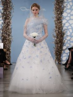 Wedding Dress Trends From New York's Spring/Summer 2014 Bridal Runways (PHOTOS)