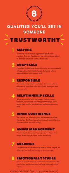 qualities of trustworthiness