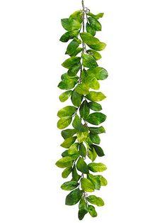 Artificial Magnolia Leaves Garland $24.99 6' Lo... https://www.amazon.com/dp/B019G6HI12/ref=cm_sw_r_pi_dp_x_Z8zyzbVWWZSS5
