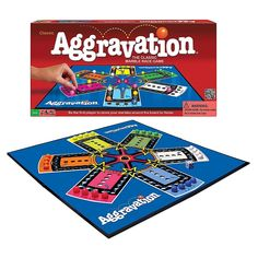 Classic Aggravation Game - Classic Aggravation provides fun and excitement for the whole family! Race your marbles around the board in an attempt to be the first to make it from base to home. Shortcuts let you zip ahead, but they're risky too - are you willing to chance it? Aggravation Board Game, Marble Race, Senior Gifts, Classic Board Games, Family Board Games, Kids Board, Group Games, Family Game Night, Games For Kids