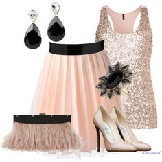 A fashion look from December 2013 featuring pink sequin shirt, back zipper skirt and prada footwear. Browse and shop related looks. Ballet Skirt, Shoe Bag, Clothes For Women, Skirts, Polyvore, Stuff To Buy, Outfits, Shopping, Collection
