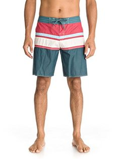 24604618 Beach Quiksilver Men's Panel Stripe Boardshort, Chili Pepper, 38 *** This  is an Amazon Associate's Pin. View the item in details by clicking the  VISIT ...
