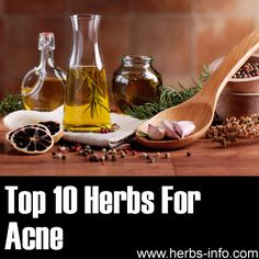 Top 10 Herbs For Acne