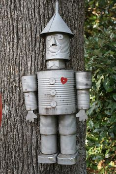 Tin man.......for some reason many hubby loves this.  And the good wife I am must make it for him.