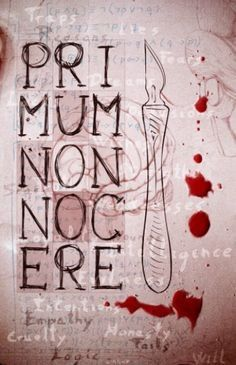 """Primum Non Nocere. """"First, do no harm."""" The principle foundation of medical ethics. would be awesome to incorporate these words into a tattoo. Surgical Tech, Med Student, Medical Assistant, Medical Field, Med School, Nurse Life, Love My Job, Medical School, Future Tattoos"""