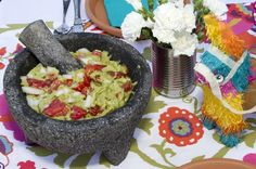Fiesta Brunch Guacamole by @Events Uncorked // @LPF Mag Issue #3