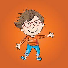 cartoon character/mascot Cartoon Characters, Fictional Characters, Vector Design, Studio, Illustration, Artist, Artists, Studios, Illustrations
