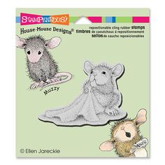 """CLING BABY BLANKET"", Stock #: HMCV24, from House-Mouse Designs®. This item was recently purchased off from our web site. Click on the image to see more information."