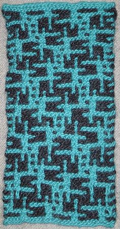 Mosaic Knitting Pattern Generator Knit Pinterest Code for, Patrones and...