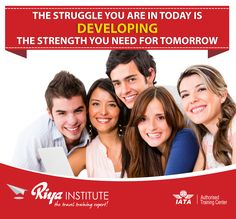 """"""" The struggle you are in today is developing the strength you need for tomorrow """"  Come and join Riya Institute today and secure a bright future. For admissions ring us on +91 9562700121 or register at http://www.riyainstitute.com/application-form/"""