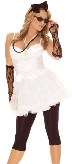 I would love to wear this one...Very Best Madonna Plus Size Halloween Costume Rock Star #Halloween #Costume