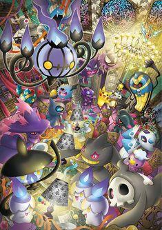 Ghost Pokemon are the best Pokemon Pokemon Gif, Fotos Do Pokemon, Pokemon Luna, Mega Pokemon, Pokemon Images, Pokemon Fan Art, Pokemon Pictures, Pokemon Cards, Pokemon Fusion