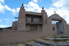 San Jose de Gracia Catholic Church, Las Trampas, NM. Built in 1760, it is one of the finest surviving 18th-century churches in NM.
