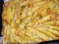 Pieczone ziemniaki w piekarniku.