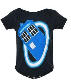doctor who baby clothes onesie #DoctorWho #RaggedyFan #onesie #Tardis #BabyShower #giftidea