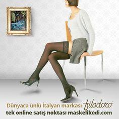 """""""Farklılığı görebilir, hissedebilir ve dokunabilirsiniz"""" sloganıyla ortaya çıkan İtalyan markası Filodoro birbirinden kaliteli çorapları ile tek online satış noktası olarak Maskelikedi.com'da yerini aldı. Stoklar tükenmeden alışverişe başlayın :)"""