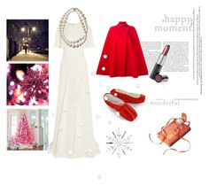 """""""Welcome Christmas"""" by xdarkgothamx ❤ liked on Polyvore featuring Giambattista Valli, Versace and Mary Kay"""
