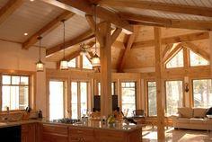 Love the wood en light