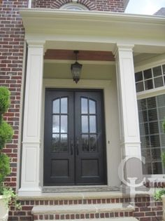 Get inspired with our handcrafted iron doors. Enhance any home's architecture appeal with out traditional, transitional, old world to contemporary iron doors. Iron Front Door, Wood Front Doors, Front Door Colors, Glass Front Door, Front Entry, Glass Doors, Garage Door Styles, Garage Door Design, Wood Exterior Door