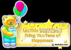 Glitter Birthday Wishes | ... Hindi, Birthday Greetings and Birthday Scraps to Wish Happy Birthday