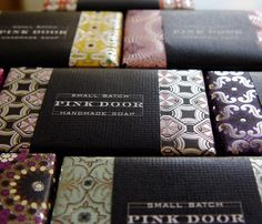 Small Batch Handmade Soap  by The Pink Door Design Lab