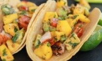 Fish Tacos with Chipotle Mango Salsa