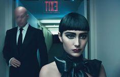 Bruce Willis and Emma Heming by Steven Meisel