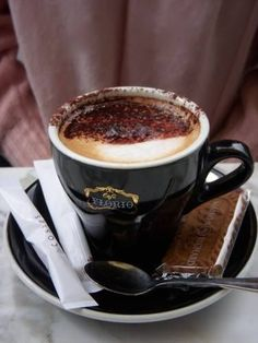 coffee.quenalbertini: A cup of coffee   This Ivy House