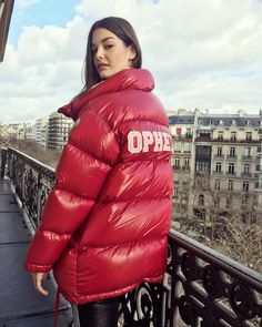 """(@ophelieguillermand) på Instagram: """"MERCI #moncler ❤️❤️LOVE my new Ophelie jacket !!!! Ready for #winter !"""""""