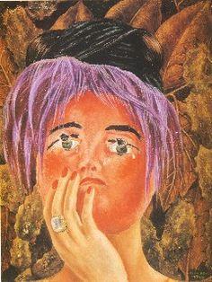 The Mask, La Mascara, Frida Kahlo, C0510