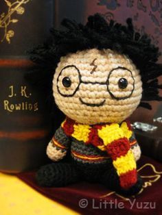 Harry Potter Amigurumi — so cute and round! Source: Little Yuzu