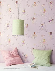 Flower Fairies for alcove window seat