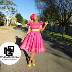 Setswana Traditional Dresses, Pedi Traditional Attire, African Fashion Traditional, Traditional Wedding Attire, African Inspired Fashion, African Dress Patterns, African Wear Dresses, Latest African Fashion Dresses, African Attire