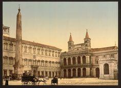 [Piazza di San Giovanni in Laterano, Rome 1890-1900