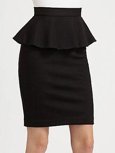 Well suited for work - Alice + Olivia Natasha Peplum Pencil Skirt #aliceolivia @alice + olivia