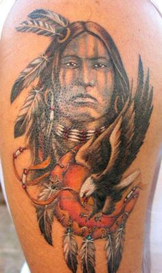native american tattoos | Posted in Native American Tattoos , Shoulder Tattoos | No Comments »