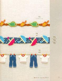 cute crochet edgings