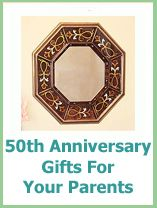 50th anniversary gift ideas for your parents anniversary giftideas