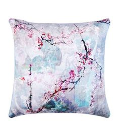 inspiration for window seat scatter cushions Meng Blossom Velvet Cushion available to buy at Harrods. Shop homewares online and earn Rewards points.