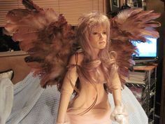 wings that I made for a porcelain fairy doll