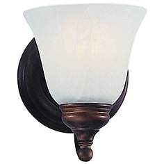 """Feiss Bristol Collection 7"""" High Wall Sconce"""