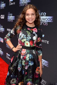 Bailee Madison Wearing Ted Baker - 2013 Young Hollywood Awards