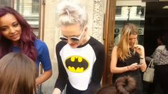Perrie Edwards with fans gif! My work.