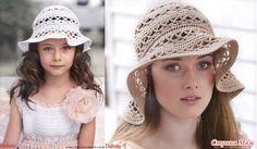 . Шляпа, панама мечта... для мамы и дочки!