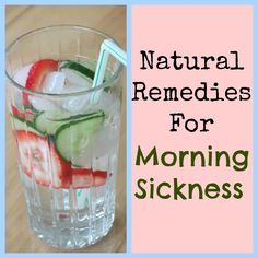 Natural Remedies for Morning Sickness! Help combat the queasiness associated with pregnancy with these natural treatments for morning sickness. Home Remedies, Natural Remedies, Natural Morning Sickness Remedies, Natural Treatments, Baby Boy, Baby Girls, Everything Baby, Baby Time, Pregnancy Tips