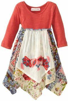 little girl's apron dress