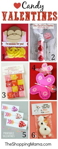 Best Candy Classroom Valentine Ideas