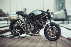 'Mostro 900' Ducati Cafe Racer - NCT Motorcycles - http://Pipeburn.com